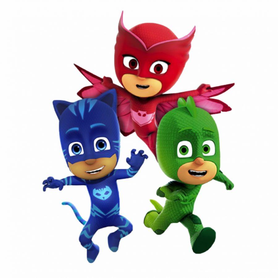 sort personalizat eroi in pijama
