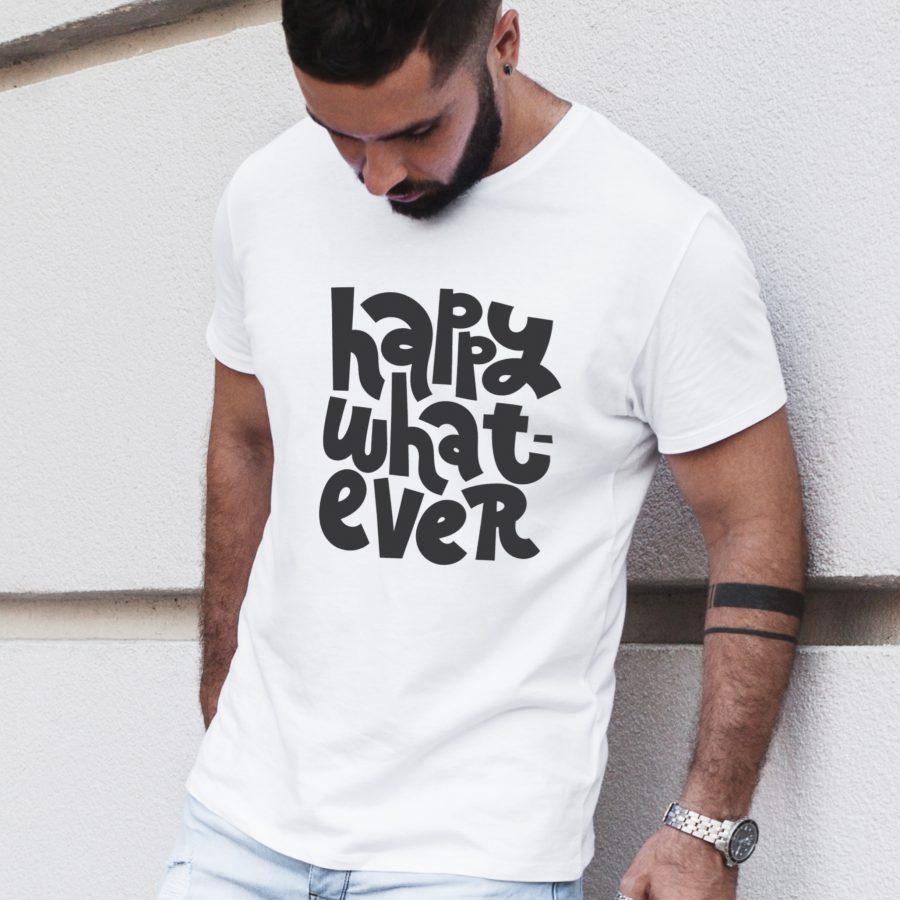 tricou personalizat dama barbat whatever 4
