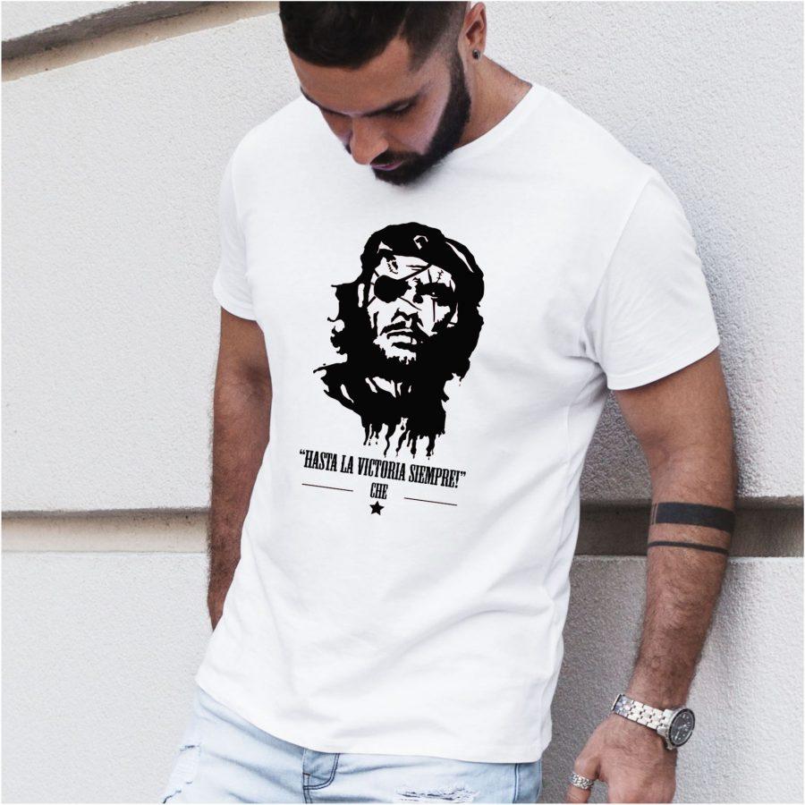 Tricou barbat Che Guevara alb
