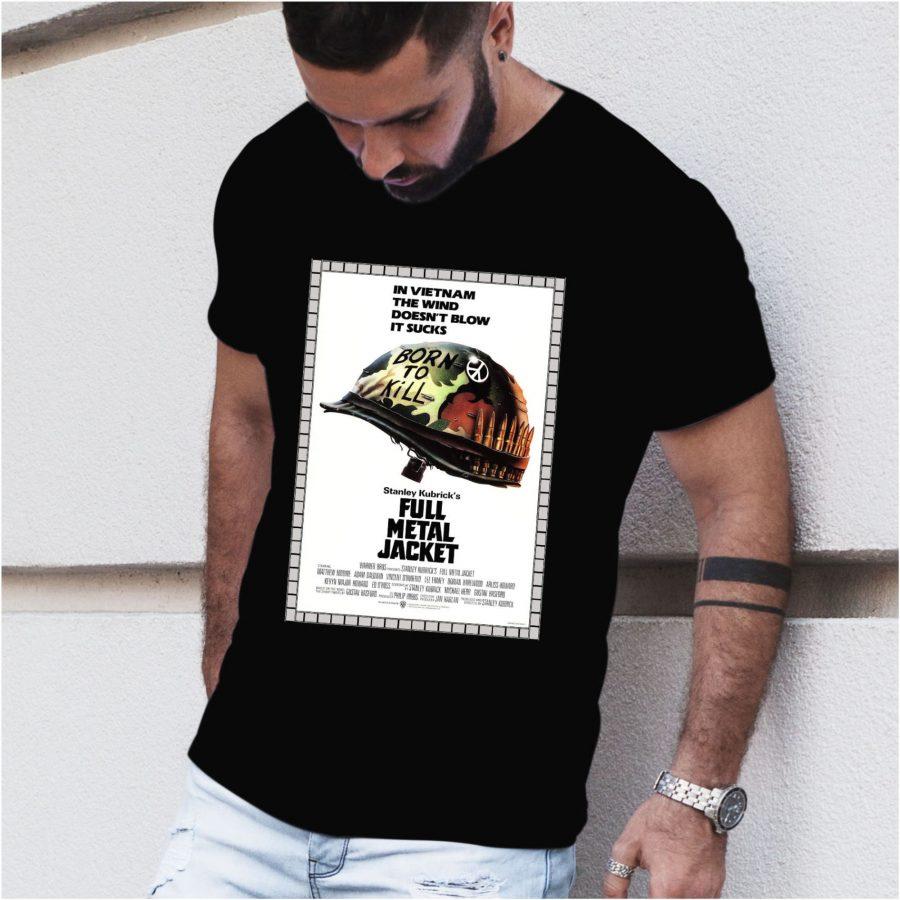 Tricou barbat FullMJ negru