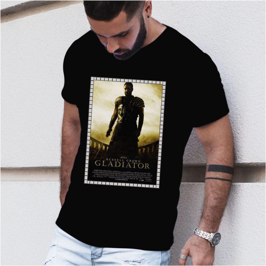 Tricou barbat Gladiator negru