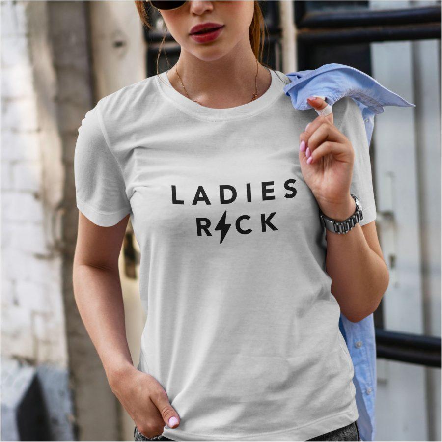 Tricou dama ladies alb